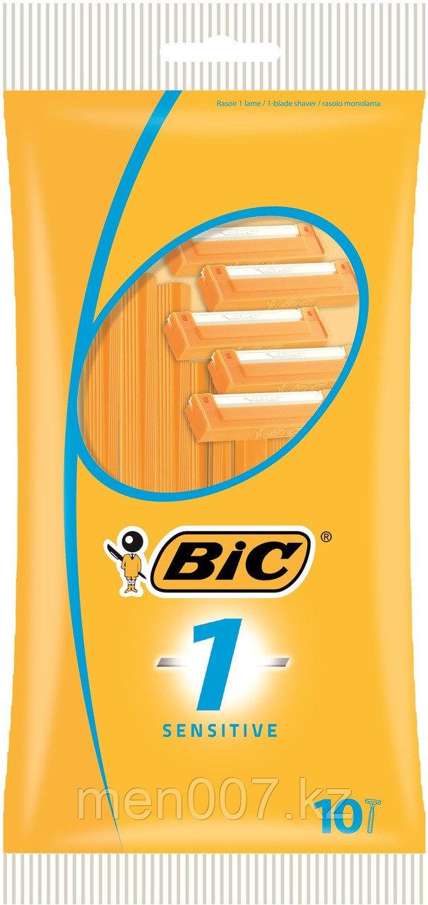 Bic 3 Sensitive (10 штук) (Одноразовые станки)