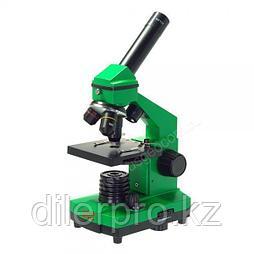 Микроскоп Микромед Эврика 40x-400x в кейсе (лайм)