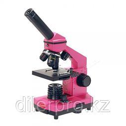 Микроскоп Микромед Эврика 40x-400x в кейсе (фуксия)