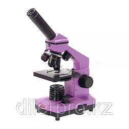 Микроскоп Микромед Эврика 40x-400x в кейсе (аметист)