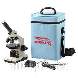 Микроскоп Микромед Эврика 40x-1280x в текстильном кейсе