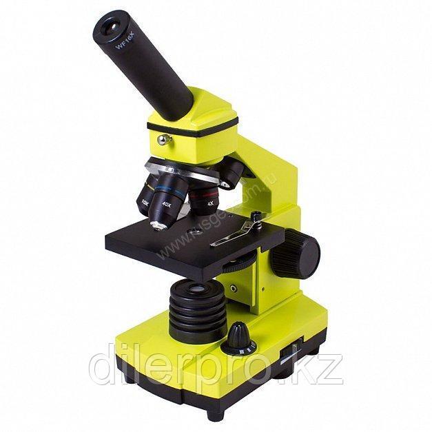Микроскоп Levenhuk Rainbow 2L PLUS Lime (Лайм)