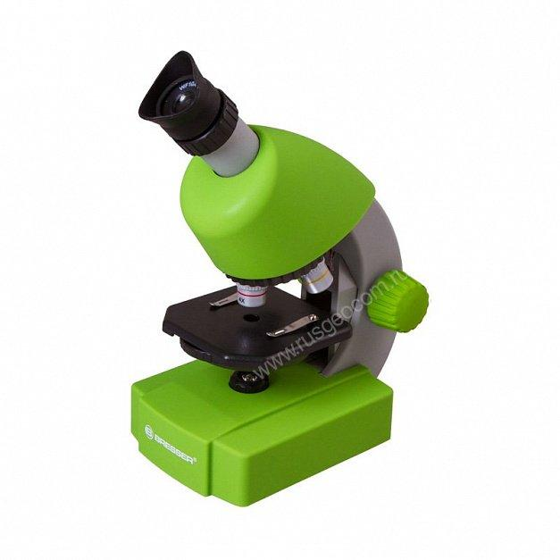 Микроскоп Bresser Junior 40x-640x, зелёный