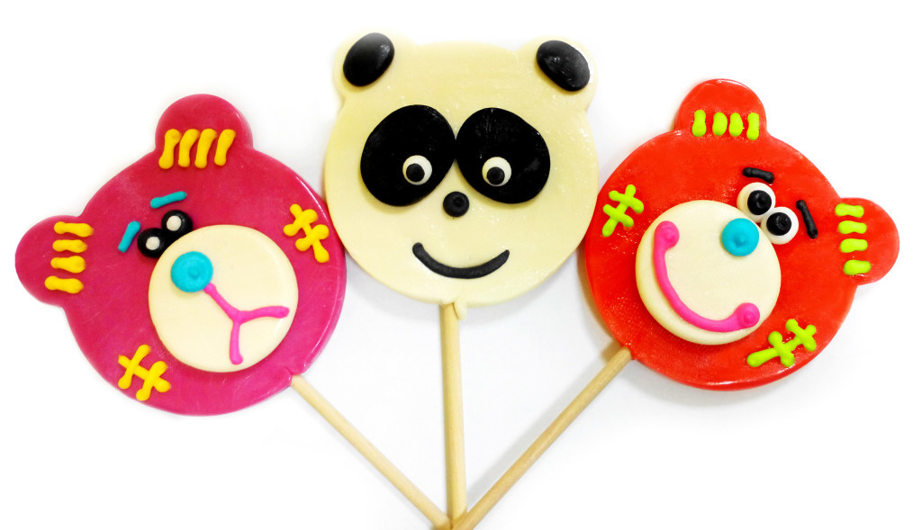 Леденец «Панда ассорти» 100 гр (10 шт. в упаковке)