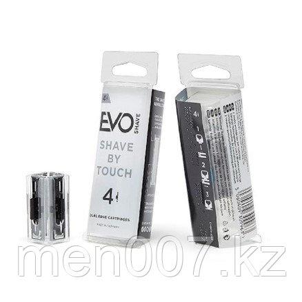 Лезвия на EvoShave (4 кассеты)