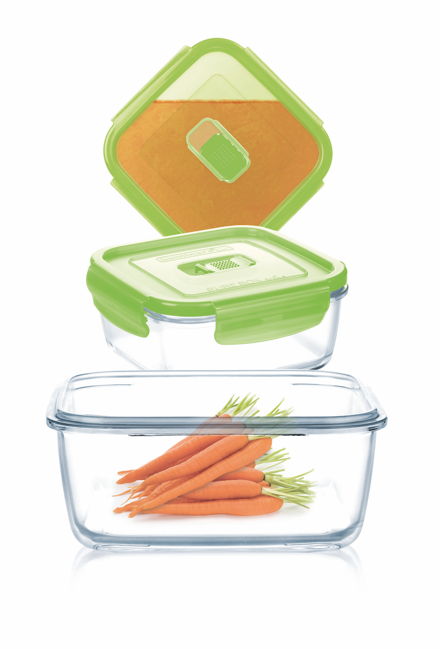 Набор контейнеров Luminarc Pure Box Active Green 3 пр.