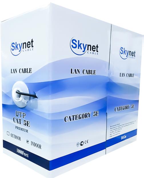 Кабель U/UTP indoor Premium 4х2х0,51 Cu SkyNet
