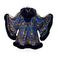 Женское пальто с мехом большого размера