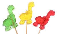 Леденец «Динозаврики» 25 гр  (30 шт. в упаковке)