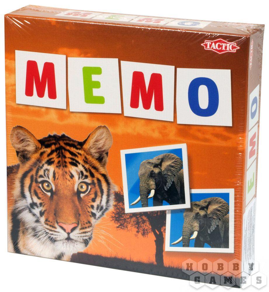 Настольная игра Мемо Дикие Животные 2