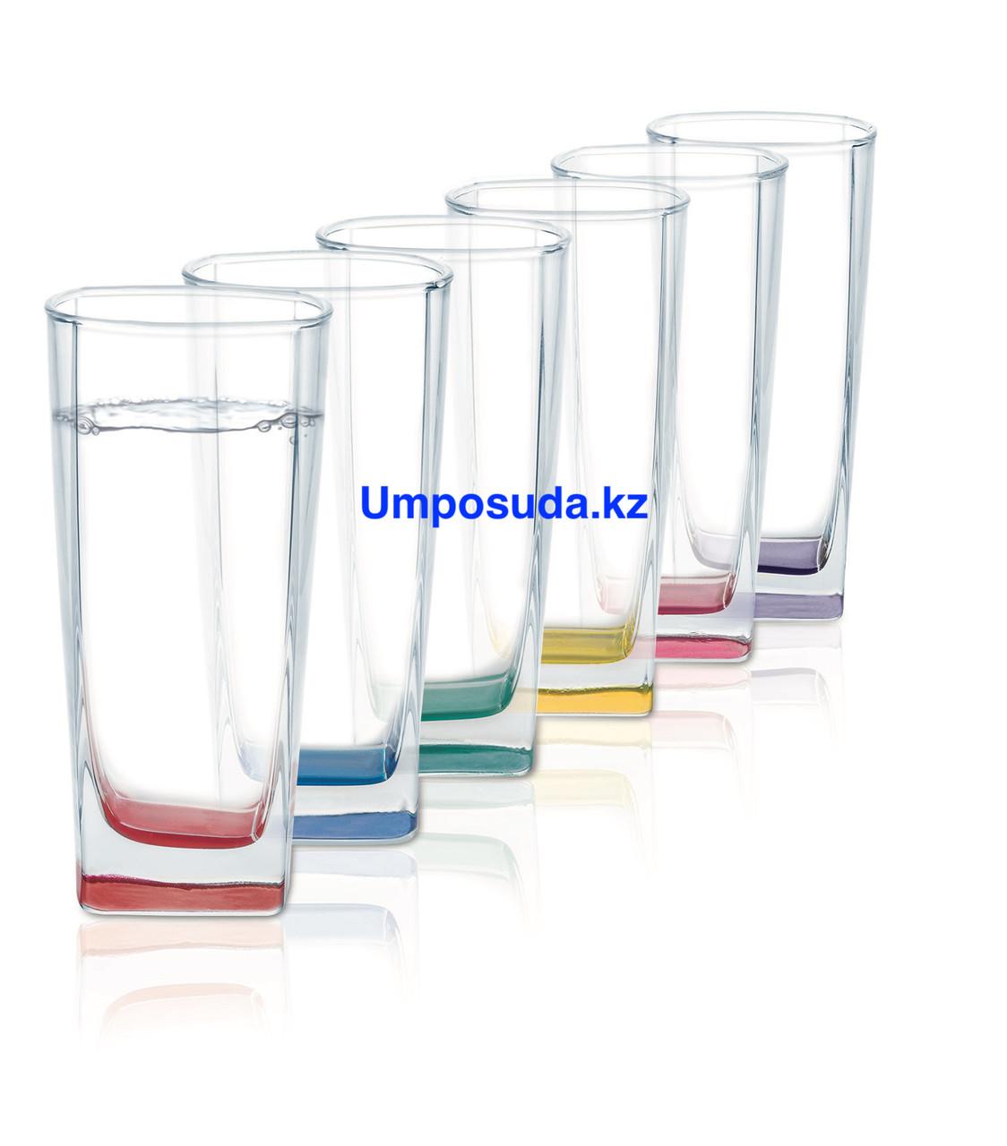 Набор высоких стаканов Luminarc Sterling Rainbow 330 мл (6 шт)