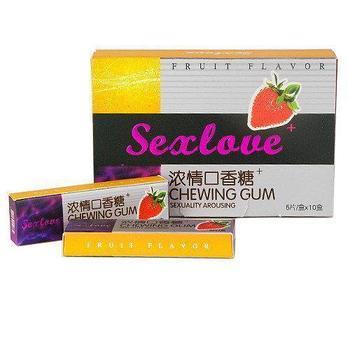 SexLove Chewing Gum возбуждающая жевательная резинка для женщин 10шт