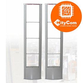 Антикражные ворота (антенна) Smart Security E-RF6, радиочастотные, 8.2MHz, противокражные. Комплект.
