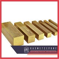 Квадрат латунный ЛС59-1 22х22х3000 п/т