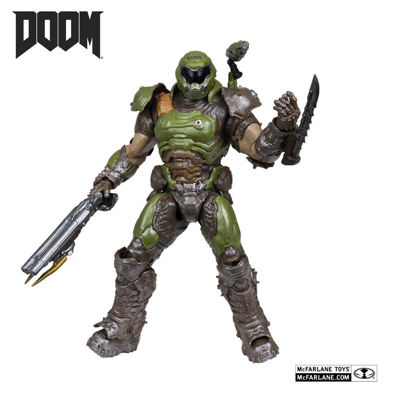 DOOM Коллекционная фигурка Палач Рока (Doom Slayer)