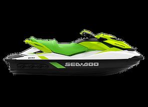 Гидроцикл BRP Sea-Doo GTI PRO Rental iBR 130 3-мест. Белый с салатовым 2020