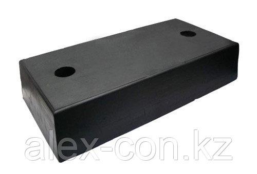 Упорный резиновый бампер (отбойник) 450*250*100