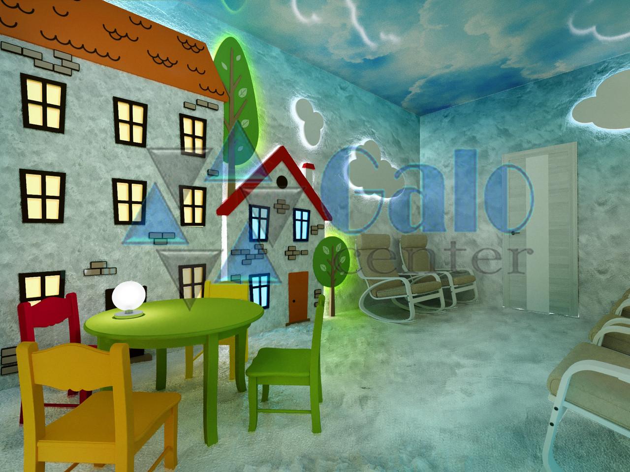Соляная комната для детского сада (постройка)
