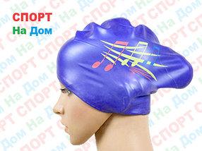 Шапочка для плавания CONQUEST (цвет фиолетовый )
