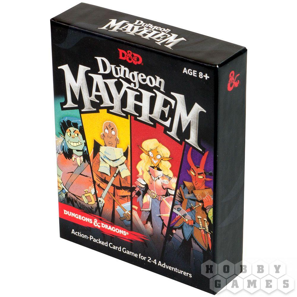 Настольная игра: D&D Dungeon: Mayhem