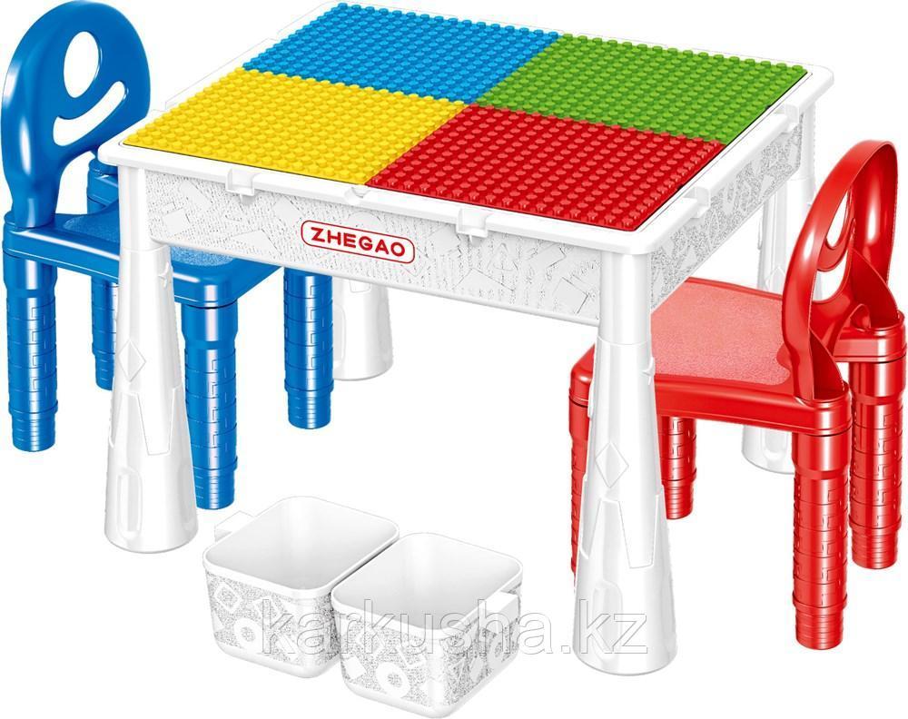 Детский стол конструктор Лего
