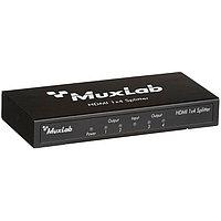 MuxLab Сплиттер (Разветвитель) - передатчик 1 HDMI сигнала на 4 HDMI дисплей, фото 1