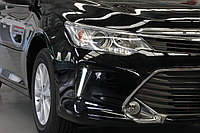 Дневные ходовые огни на Toyota Camry V55 2014-17 дизайн (Полоска), фото 1