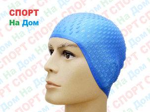 Шапочка для плавания CONQUEST (цвет голубой ), фото 2