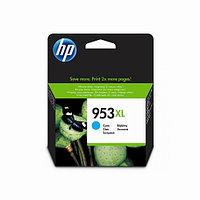 Струйный картридж HP 953XL (Оригинальный, Голубой - Cyan) F6U16AE