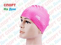 Шапочка для плавания CONQUEST (цвет розовый )