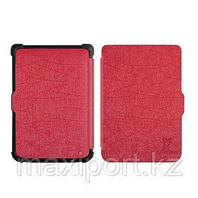 Pocketbook чехол 616\627\632606 628 633 цвет Красный