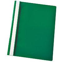 Скоросшиватель пластиковый  А4 180мк Зеленый