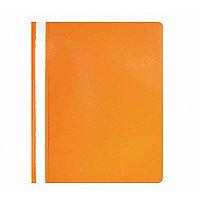 Скоросшиватель пластиковый А4 180мк Оранжевый