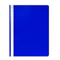 Скоросшиватель пластиковый А4 180мк Синий