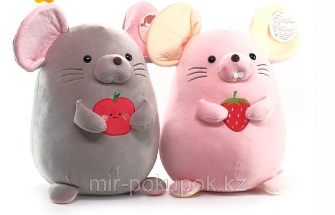 Мягкая игрушка мышка Глаша  размер 35 см