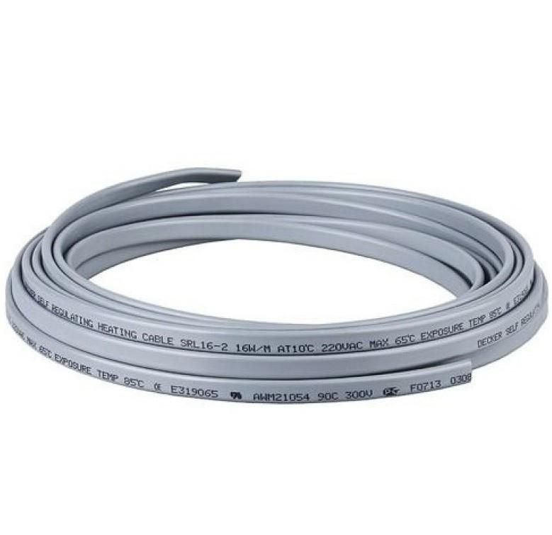 Нагревательный кабель без оплетки SRL 16-2