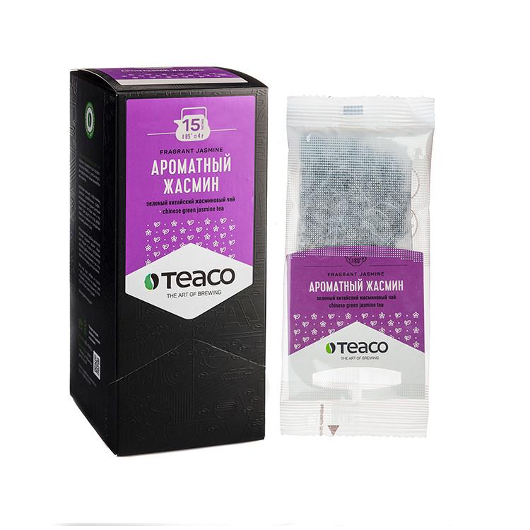 Ароматный жасмин Чай пакетированный на чайник 15 пак.