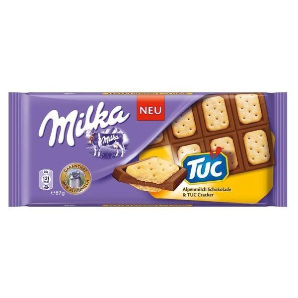 MILKA milka TUC 87гр (18 шт. в упаковке)