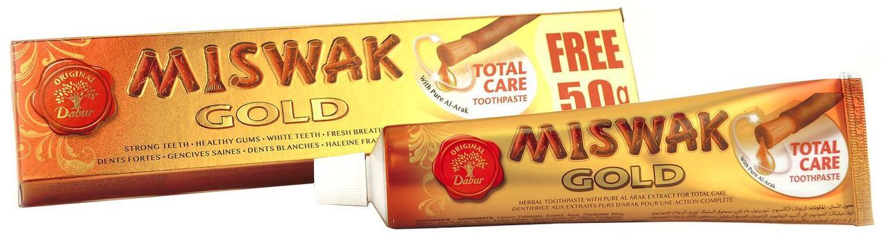 Зубная паста «Miswak Gold»