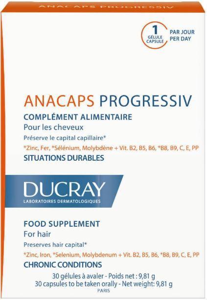 Витамины для волос и ногтей «Progressive», 30 капсул
