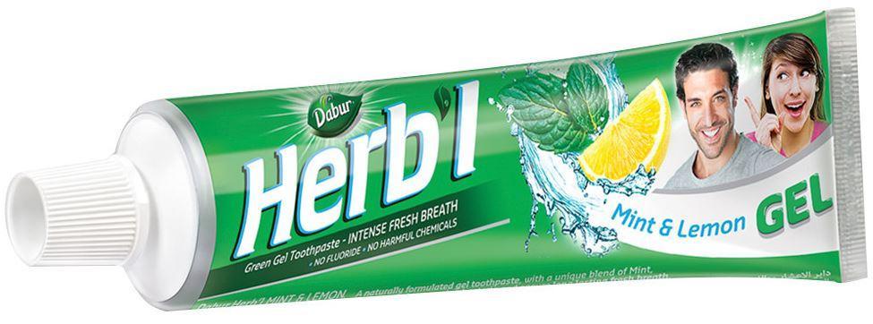Зубная паста с мятой и лимоном