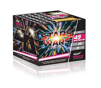 "Батарея салютов ""Stars Wars"" 49 выстрелов"