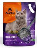 MurKel 20л\16кг Лаванда (круглый) комкующий наполнитель для кошачьего туалета, фото 1