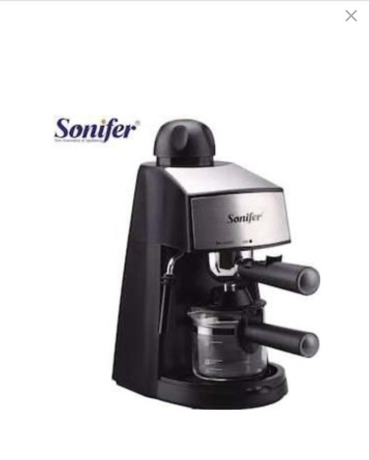 Рожковая кофеварка с каппучинатором Sonifer  5 Бар