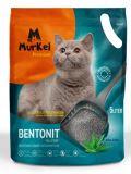 MurKel 16кг/20л Алоэ Вера (круглый) комкующий наполнитель для кошачьего туалета