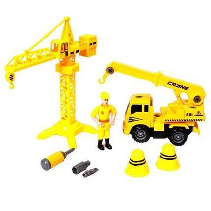 Игровой набор строительный TRUCK CITY BUIL DERS DIY TOYS REMOVABLE, фото 2