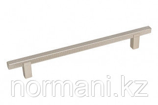 Мебельная ручка скоба, замак, размер посадки 160мм, отделка платина
