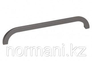 Ручка-скоба 160мм, отделка темно-серая