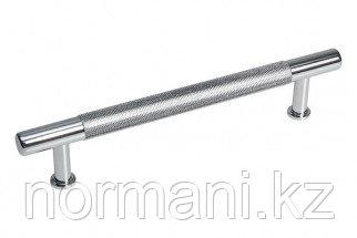Ручка-скоба 128мм, отделка хром глянец