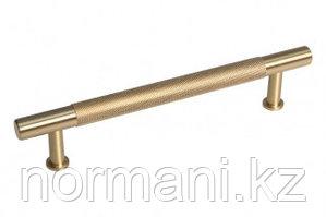 Ручка-скоба 128мм, отделка золото шлифованное